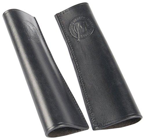 Harry\'s Horse 28600999-05 Leder Stulpen für Steigbügelriemen, schwarz