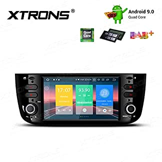 XTRONS-61-Android-90-Quad-Core-Autoradio-2GB-RAM-16GB-ROM-mit-Touchscreen-Multimedia-Player-Plug-und-Play-Autostereo-untersttzt-4G-WiFi-Bluetooth-DAB-OBD2-TPMS-FR-FIAT