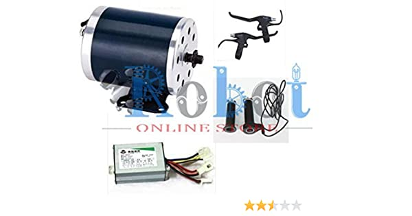 24v motor 1000 W 36V MY1020 Electric Bike Kit (Silver)
