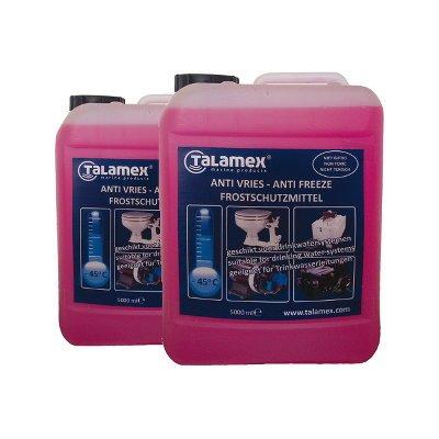 Talamex 2er-Set Frostschutzmittel ungiftig insb. für Boote und Caravan - 2 x 5L