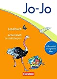 Jo-Jo Lesebuch - Allgemeine Ausgabe 2011: 4. Schuljahr - Arbeitsheft Lesestrategien