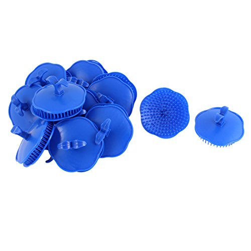 sourcingmap® Brosses à cheveux Brosse de Shampooing Massage corps cheveux Cuir Chevelu Peigne 20Pcs brosse