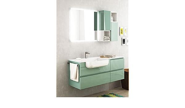 Dafnedesign mobile da bagno color verde acquamarina chiaro e