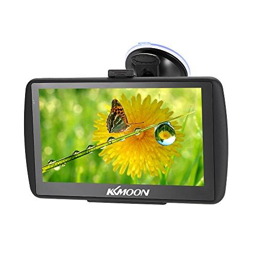 KKmoon GPS Navigatore 128MB 4GB GPS Navigator 7 Pollici HD Schermo di Tocco Auto Portatile MP3 Video Lettore Sistema di Intrattenimento per Auto con Mappa Libera FM Ebook Gioco