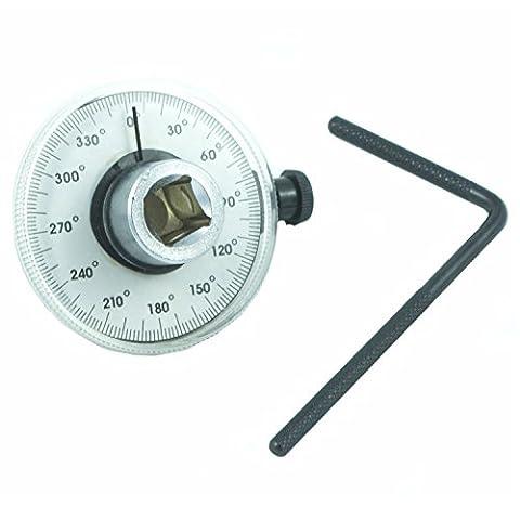 'Angle de rotation de compteur Clé dynamométrique 1/2neuf Angle 360° ° Couteau