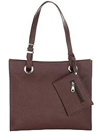 The Blue Pink Women's Brown Color Handbag (OLI-02)