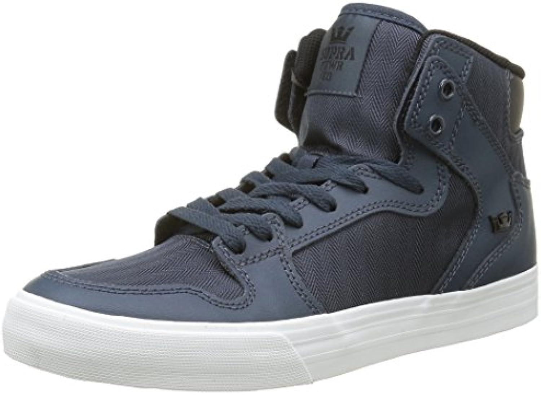 Supra Herren Vaider Hohe Sneaker  Grau  Billig und erschwinglich Im Verkauf