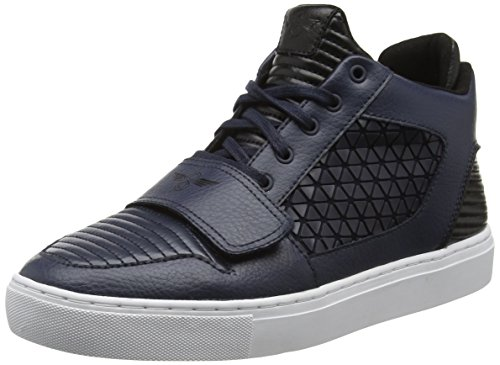 Creative Recreation Lasala - Scarpe da Ginnastica Alte uomo, Blu (Blue (Navy White Geo)), 42