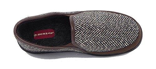 Dunlop , Chaussons homme Marron