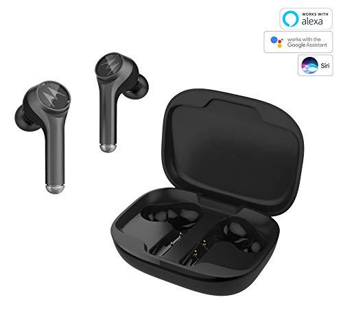 Motorola VerveBuds 800 - Auriculares Inalámbricos - In ear auriculares Bluetooth 5.0 - Waterproof IP54 - Cancelación de ruido - 18 Horas - Compatible con Alexa, Siri y Google Assistant