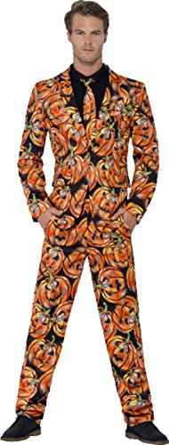 Herren Erwachsene Karneval Junggesellenabschied Thema Outfit Pumpkin Anzug -