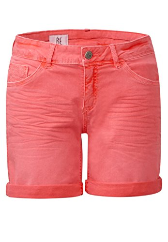 Street One Damen Loose Fit Shorts Orlando hot coral authentic wash