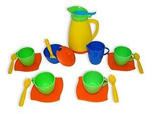Wader Quality Toys - Juego de café y té de Juguete (Wader PW40619) Importado
