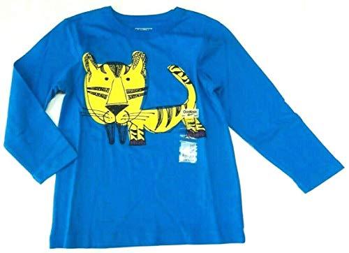 OshKosh B'Gosh 104/110 Langarmshirt für Jungen Boy USA Size 5 Sweatshirt hellblau Tiger Oshkosh Usa-sweatshirt