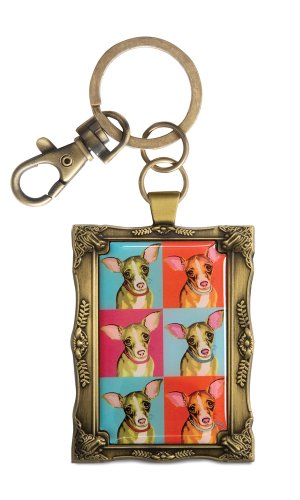 pavilion-gift-company-12015-paw-palettes-keychain-2-by-2-3-4-inch-chihuahua-woofhol