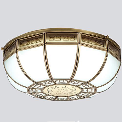 Unbekannt Moderne Kronleuchter Glas Kupfer Kreative E27 Persönlichkeit Kronleuchter Wohnzimmer Schlafzimmer Kinderzimmer Design Tee Shop Dekoration,warm-Light,5-Heads -