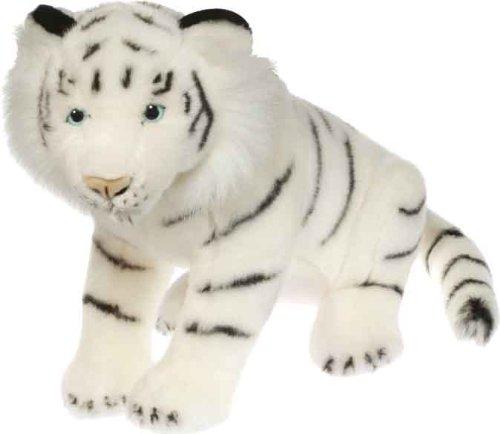 Wild Republic 86185 Natural Pose Tigre Bianca, 38 cm- Peluche