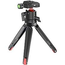 Driepoten, standaarden Mini Tischstativ Tripod ausziehbar Stativ schwarz 1/4 Zoll 1/4 Tisch Kamera Go Foto en camera