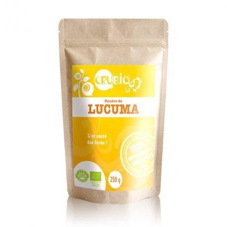 CRUBIO - Poudre de Lucuma du Pérou - certifié BIO (250g)