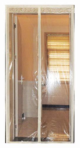 FEFEFEF PVC transparente Moskito Vorhang Küche Kunststoff Anti-Rauch-Trennwand magnetischen Moskito Vorhang,3