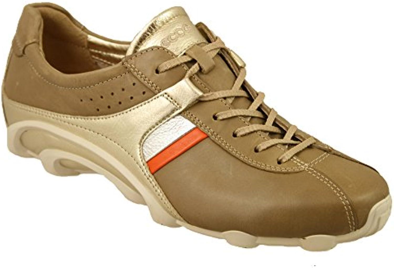 ECCO - Zapatos de cordones para mujer Beige arena