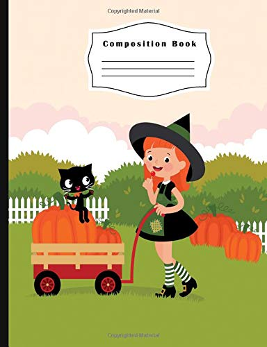 alloween Composition Notebook: Blank Composition Notebook 100 sheets / 200 pages, 9-3/4