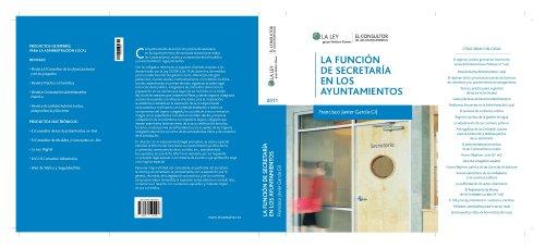 La función de secretaría en los ayuntamientos por Francisco Javier García Gil