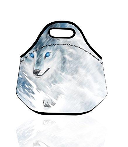 neopren-tote-lunch-bag-travel-picknick-tragetasche-aufbewahrungstasche-cool-wolf-blau-augen