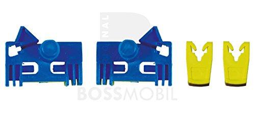 Preisvergleich Produktbild Bossmobil RENAULT LAGUNA, VEL SATIS, ESPACE IV, Vorne Rechts oder Vorne Links 2 Tür und 4 Tür, manuell oder elektrischer Fensterheber-Reparatursatz