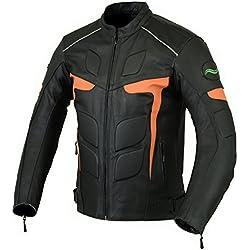 RIDEX de hombre para LJ-2O motorista fassinas con una chaqueta de cuero CE diseño de motocicletas antiguas de moto