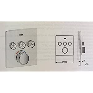 Grohe Grohtherm SmartControl 29157lso