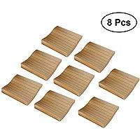 YeahiBaby 8pcs Office Notepad Notas adhesivas Soild Square Libro de Memo índice de papel adhesivo forrado Lista Papel Kraft