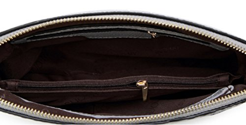 FZHLY Autunno E In Inverno Nuovo Modello Della Shell Shoulder Bag Messenger,White Black