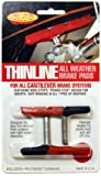 Kool Stop Bremsschuhe C3 Thinline Cantilever 1 Paar Bremsbeläge Fahrrad blau