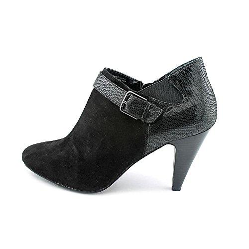 BCBGeneration Shirlee Femmes Cuir Sandales Compensés Black