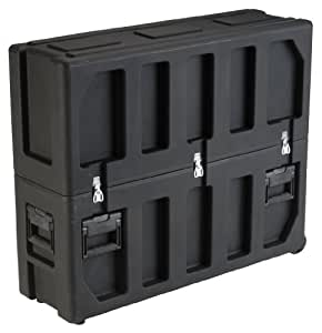 SKB 3SKB-3237 Roto Molded LCD Case with Universal Foam Pad Set for 32-37 inch Screen - Black
