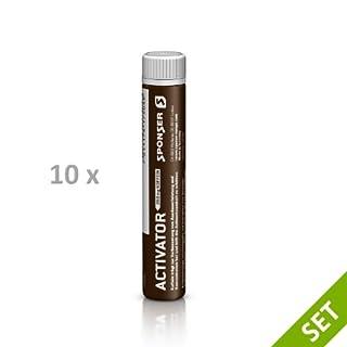 Sponser ACTIVATOR 200 10x25ml Röhrchen SPAR SET Energy Koffeein Fitness Ausdauer, 10x17-504