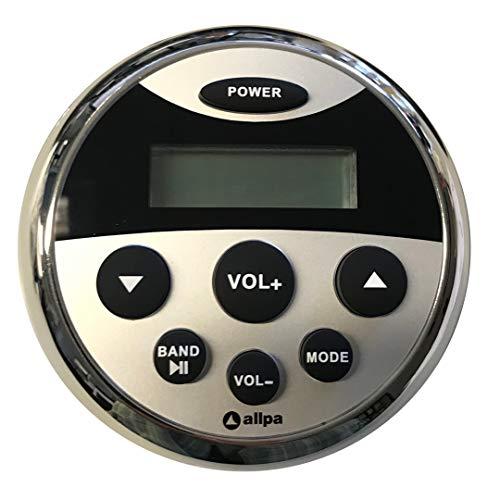 Marine Radio wasserdicht MP3 Player USB Bluetooth AUX Boot iPhone & Android fähig 4x40 Watt AM/FM Radio Streaming per Smartphone Elektronik Marine Radios
