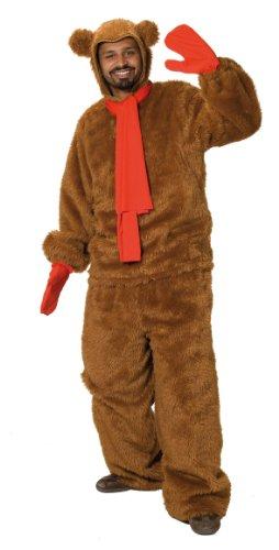 Kostüm Schlafsack Bär - Rubie's 1 4357 M - Pustefix Bär Unisex Kostüm, 4-teilig, Größe M