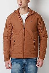 Peter England Brown Regular Fit Jackets_EOW51500528_M