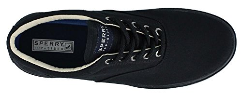 Sperry Top-Sider Mens Halyard Casual Lace Up Shoes noir/noir
