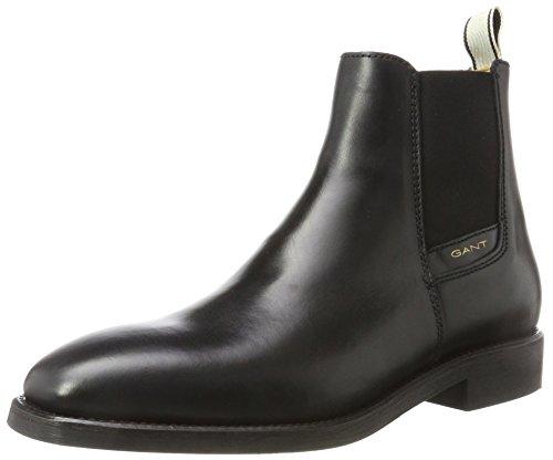 GANT Footwear Herren James Chelsea Boots, Schwarz (Black), 44 EU