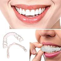 Fernando feliz 1 Piezas de odontología cosmética Broche instantáneo Sonrisa Comodidad Ajuste Dientes Flexibles chapas,