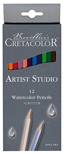 Cretacolor – k281.12 – Set 12 Aquarellstifte – Bunststifte