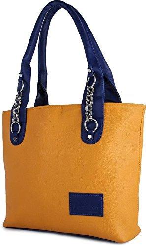 Taps Fashion Women's Handbag(Mustard,Sln-4)  available at amazon for Rs.249