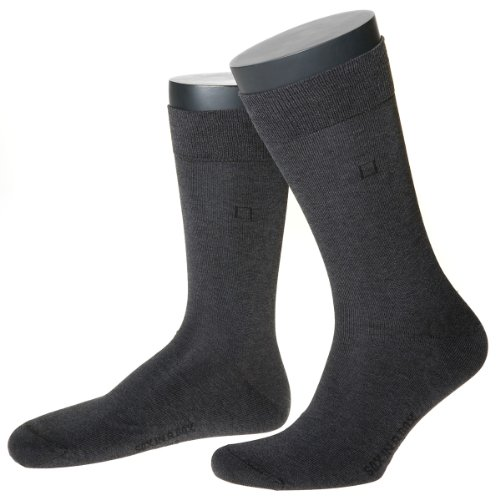 SOX IN A BOX, Classic Socke, unisex, grau, Größe 40-41. Made in Germany. (Classic Baumwolle Sox)