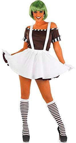 (Sexy Factory Worker - Adult Kostüm - Medium - 40-42)
