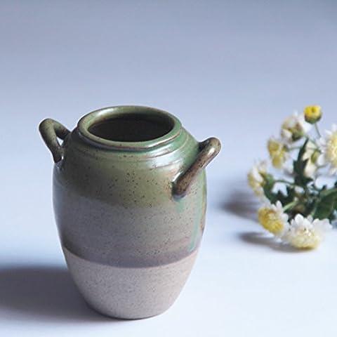 Maivas Décoration Vase en céramique poterie Pots Retro Mini Eau