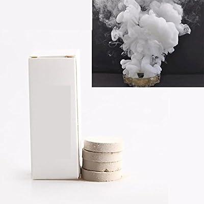 LawUza 10Pcs White Smoke Effect Smoke Maker Bomb Smoke Cake Photography Props