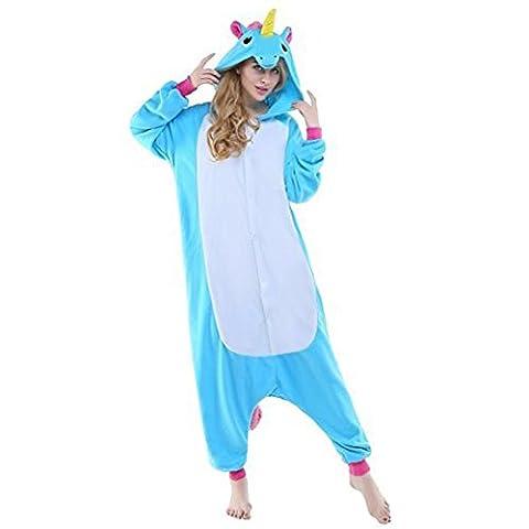 Costumes Femmes Unicorn - Adulte Kigurumi Unisexe Anime Animal Costume Cosplay